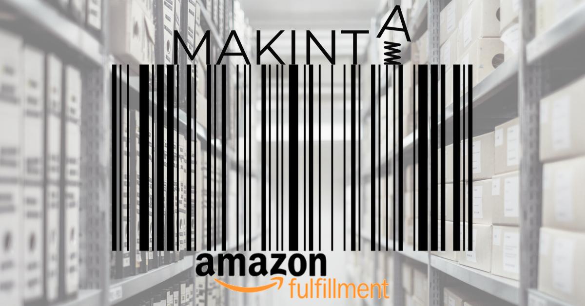 Etykiety z kodami kreskowymi Amazon FBA